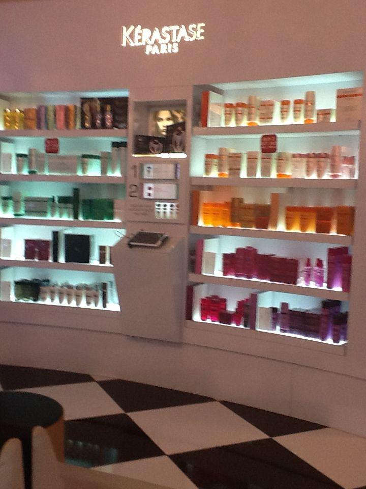 I Want This Kerastase Stand Manicure Salon Interior