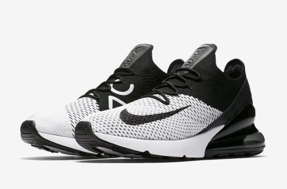f26b5e35748a Release Date  Nike Air Max 270 Flyknit White Black. Find this Pin and more  on ...