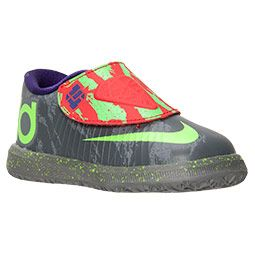 best website 71cfd b389e Boys  Toddler Nike KD VI Basketball Shoes   FinishLine.com   Cool  Grey Electric Green Bright Crimson