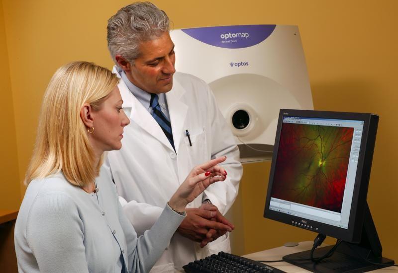 Optomap Widefield Digital Eye Scans Educational Technology Optometry Education