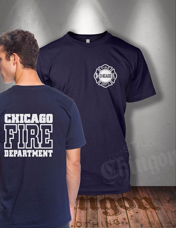 Chicago Fire Department Logo T Shirt By Chingonclothingco
