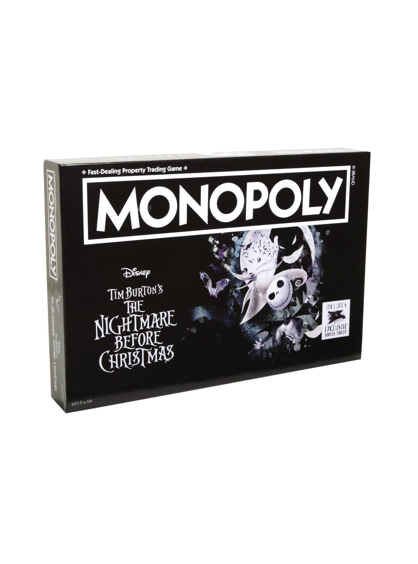 The Nightmare Before Christmas Collector\'s Edition Monopoly Board ...
