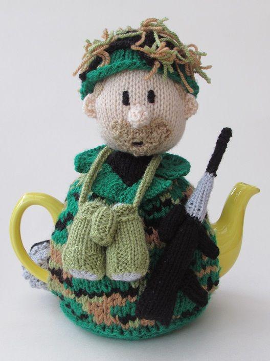 Soldier tea cosy knitting pattern   Pinterest   Teteras, Hora del té ...