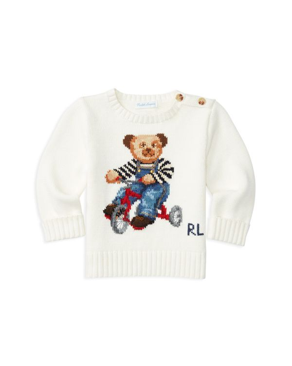 An adorable addition to his wardrobe, this combed cotton