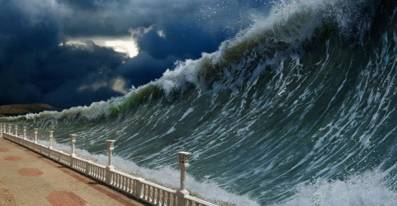 What Kind Of Natural Disaster Are You Most Like Tsunami Waves Tsunami Waves