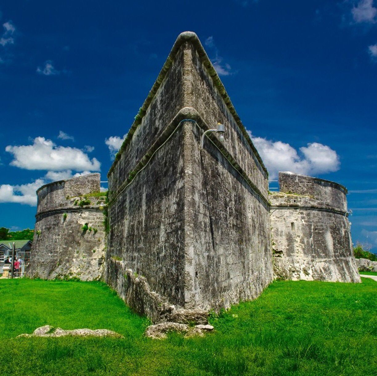 Fort Fincastle, Nassau, The Bahamas