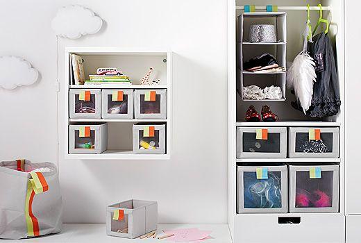 sl kting f cher taschen und boxen bieten den perfekten ort f r kleidung und spielzeug wie hier. Black Bedroom Furniture Sets. Home Design Ideas