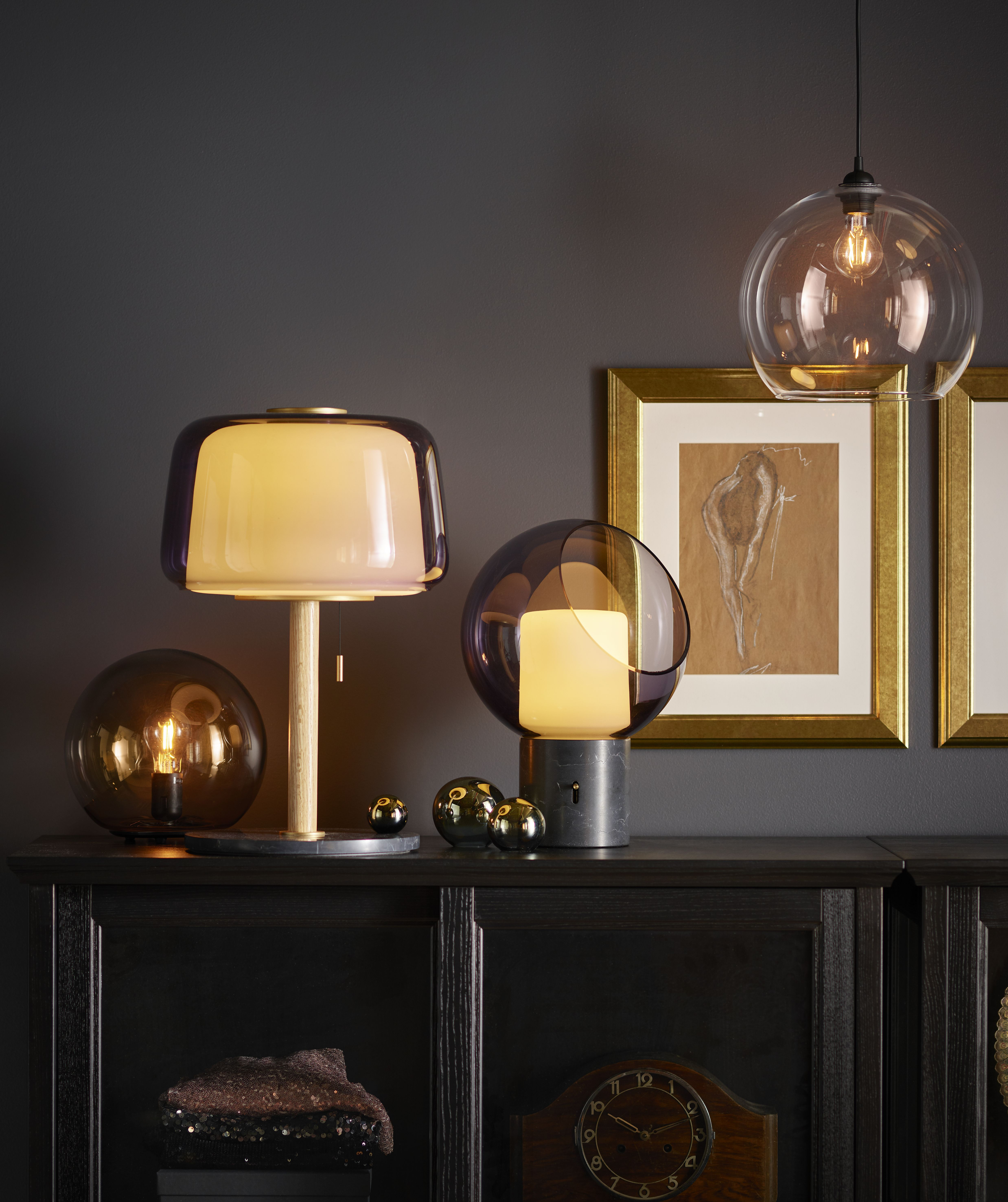 Lámparas de mesa de Ikea muy decorativas, ideales para tu
