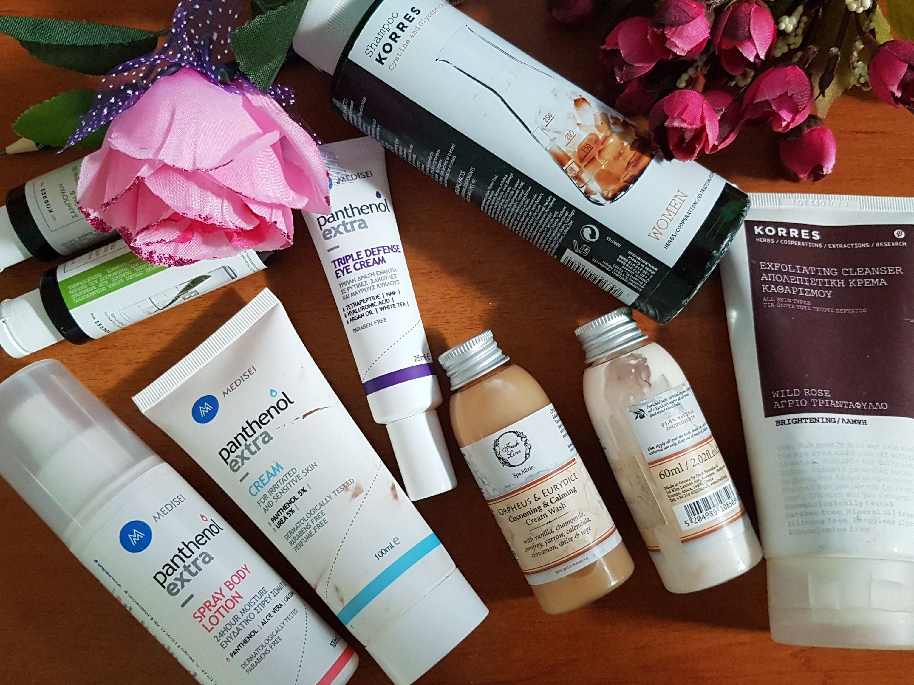 Greek Skincare Review Medi sei, Korres & Fresh Line