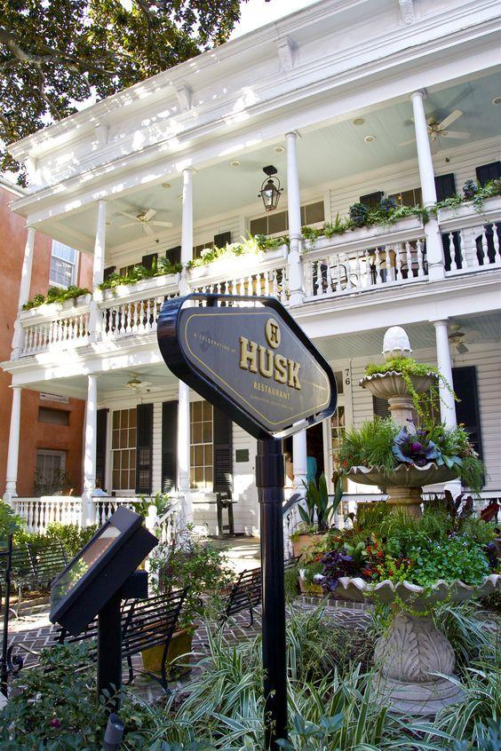 The Husk Restaurant Eat Lunch Travel Charleston South