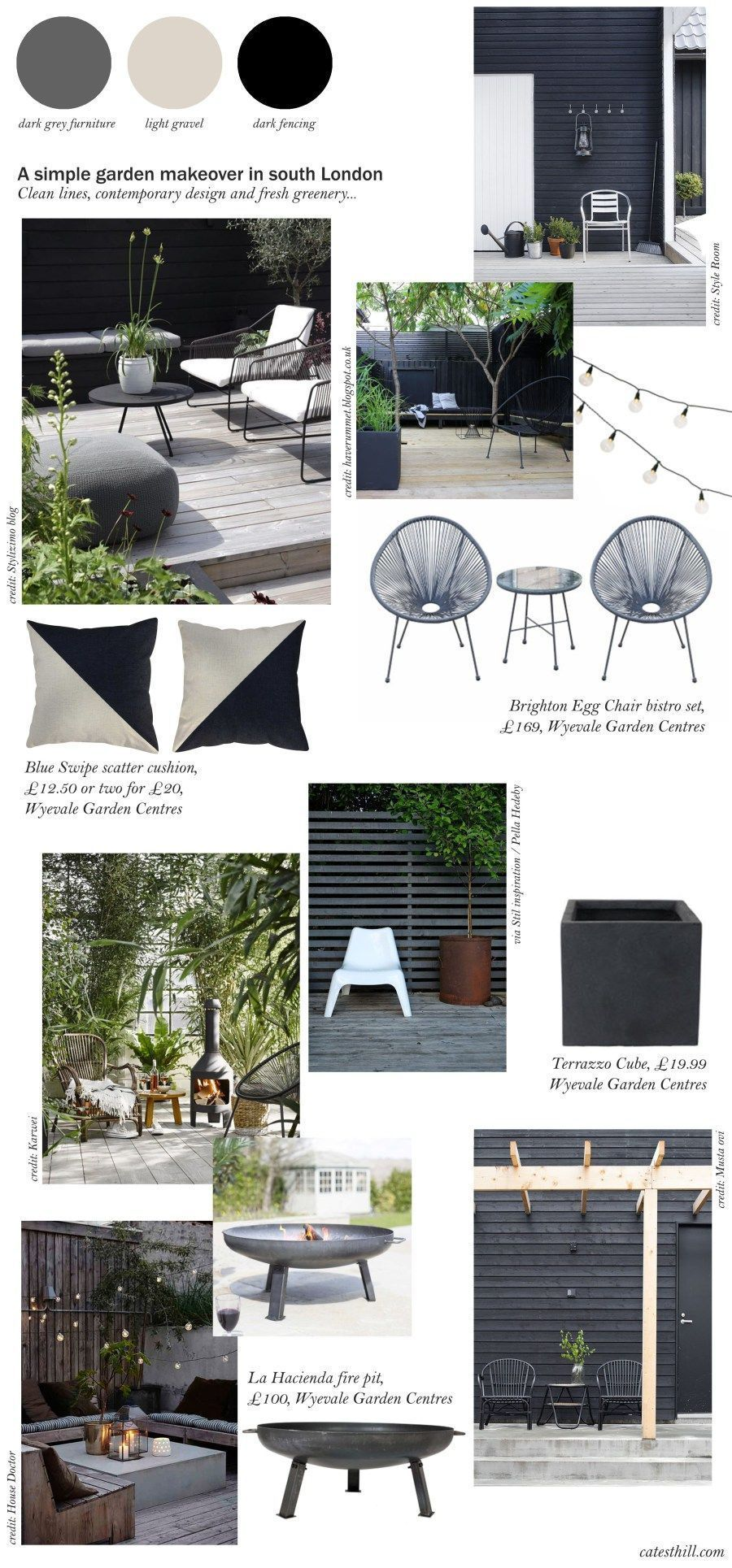 Cate St Hill Simple Garden Makeover Inspiration Backyardgardeninspiration Setting Up The Garden F Garden Makeover Modern Garden Design Diy Garden Furniture