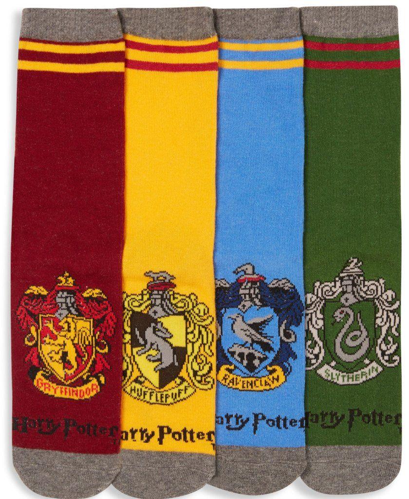 Harry Potter Women/'s 3 Pair Socks Hogwarts Quidditch Ladies Size UK 4-8