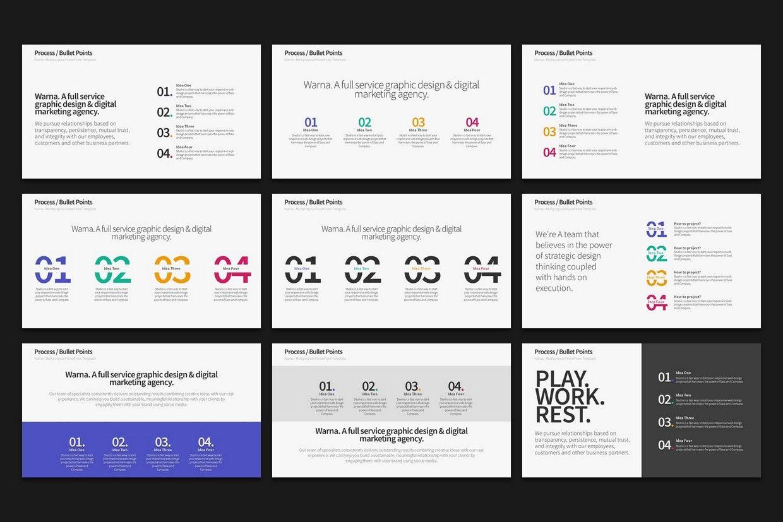Warna Slides MultiPurpose PowerPoint Template 2019