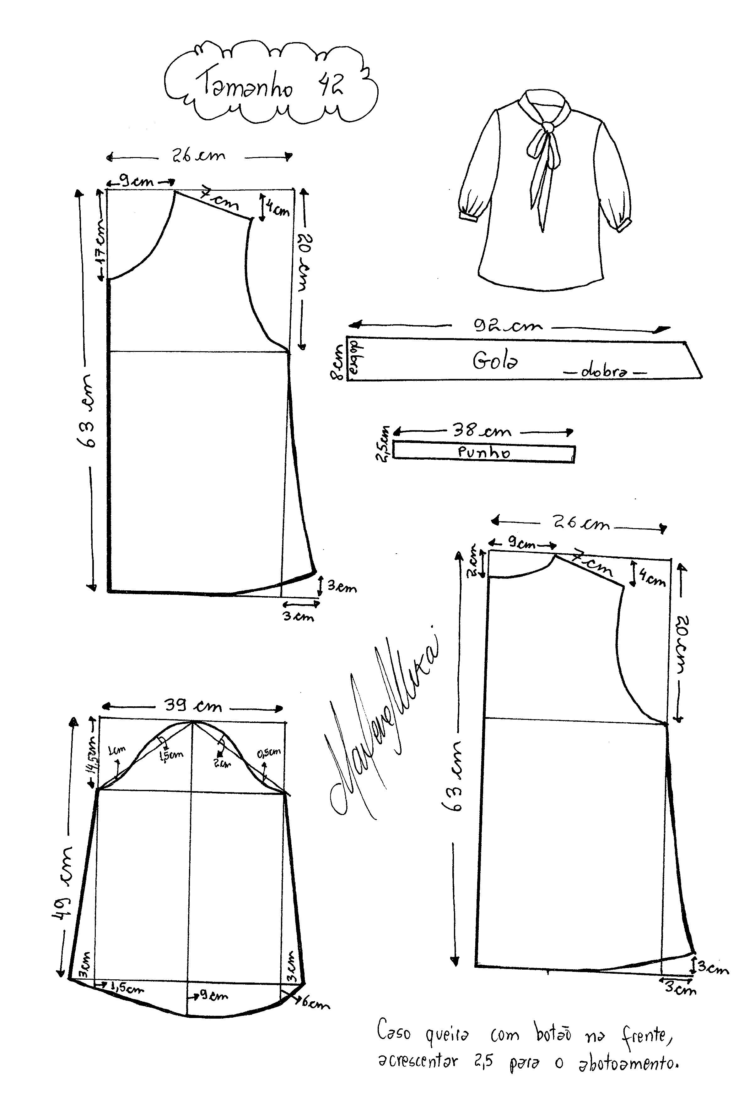 Pin de Belen Saravia en vestidos mujer | Pinterest | Costura, Blusas ...