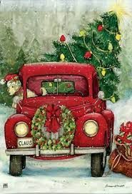 Image Result For Classic Christmas Little Red Truck Pinterest