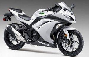 Kawasaki 2015 Ninja 300 ABS Sport Motorcycle white