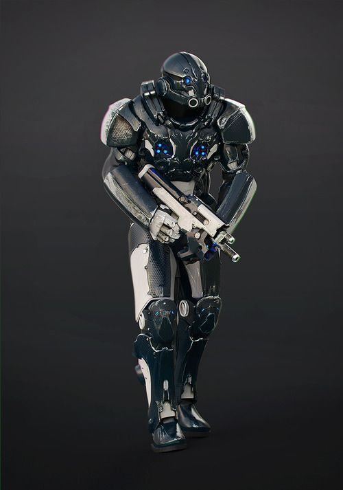 crassetination:  Various Cyber Soldiers 20