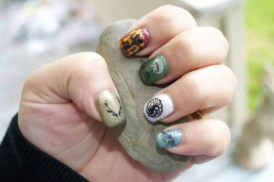 Game of Thrones | NAILS - Game of Thrones | Pinterest | Game of ...