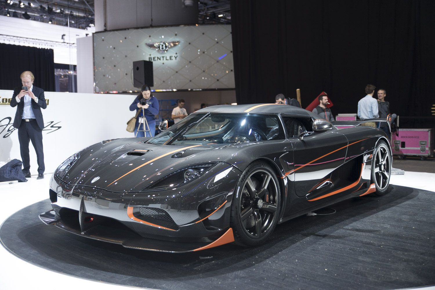 Vehicle · Brand New Koenigsegg Agera RS Front ...