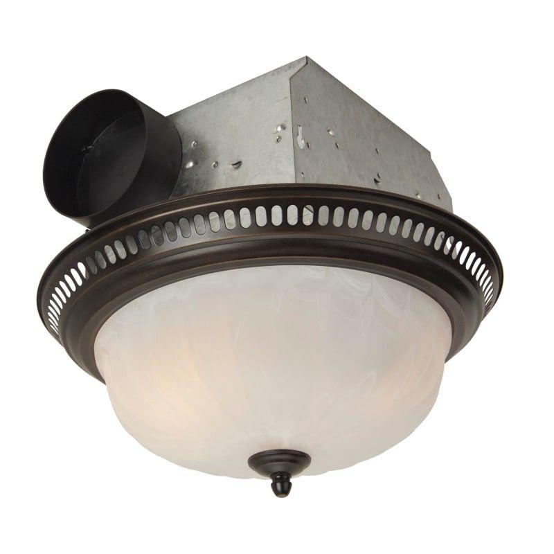 Craftmade Tfv70l D 70 Cfm Decorative Bath Fan With Light Oil