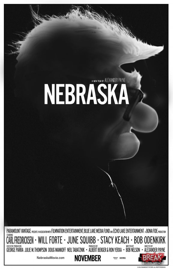 #PosterDesign by Break.com | ¿Qué sucedería si #Pixar recreara las historias nominadas a los #Oscar2014? - #Nebraska www.beewatcher.es
