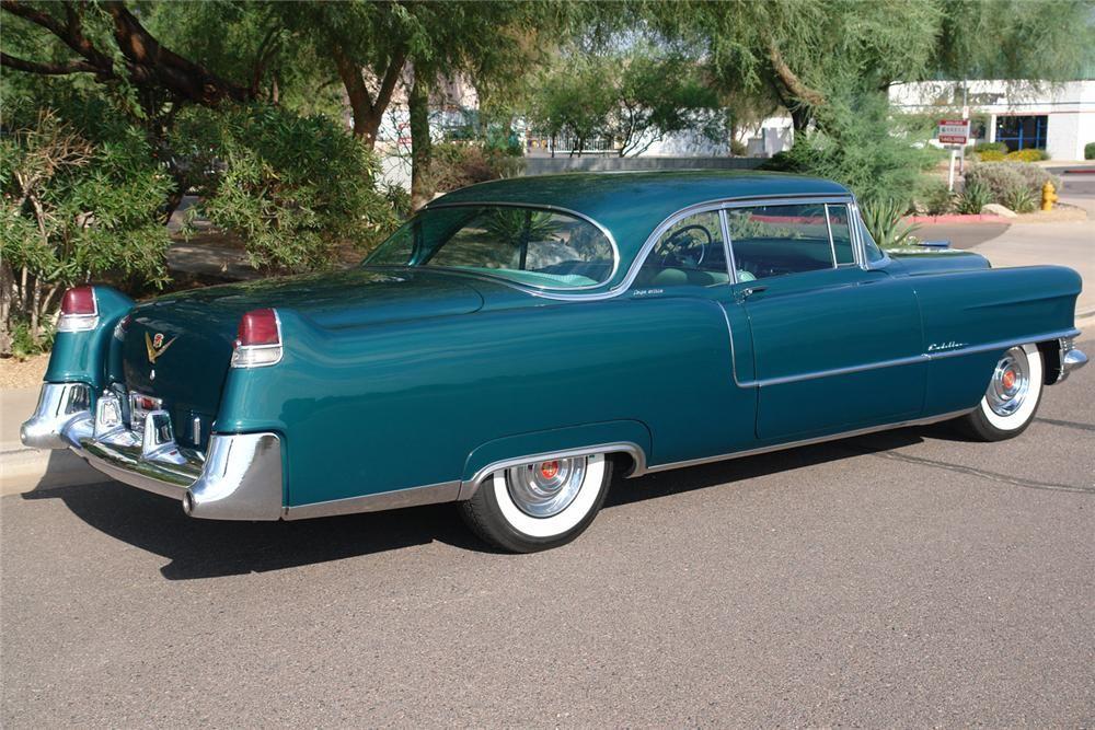 1955 CADILLAC DE VILLE 2 DOOR HARDTOP – Barrett-Jackson Auction Company – World's Greatest Collector Car Auctions