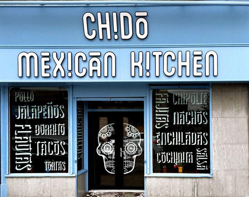 Craig Black Design Brands Chido Mexican Restaurant In Scotland
