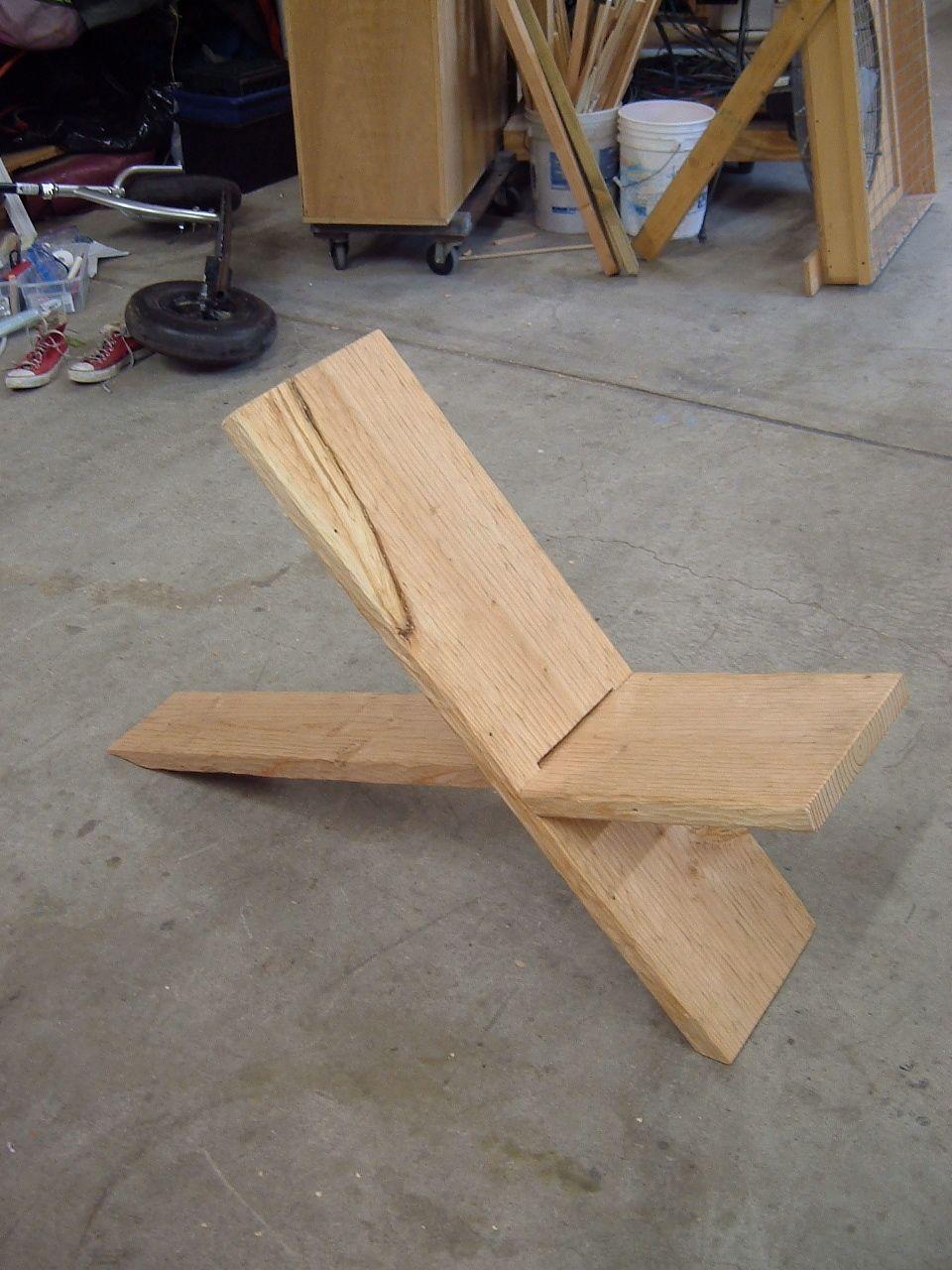 Plank Chair | Cabin Living | Pinterest | DIY, DIY ...