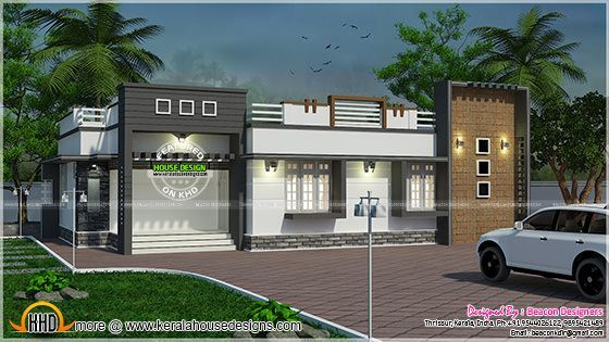 Ranch house plans unique small house floor plans house for Colonial style home design in kerala