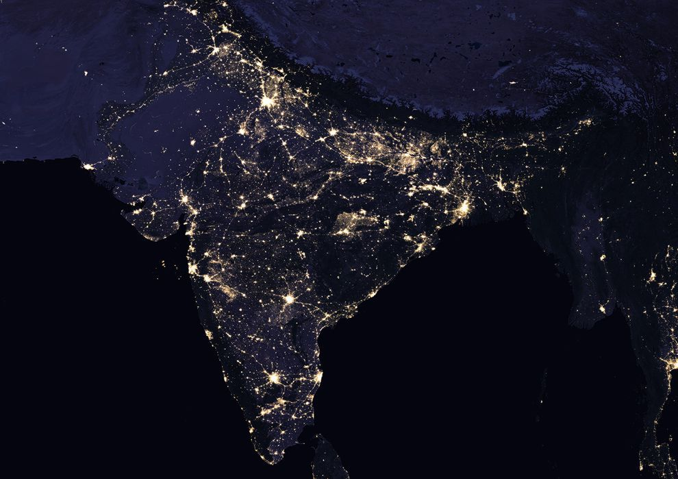 Nasa S Black Marble Shows Earth S Nighttime Glow Night Time
