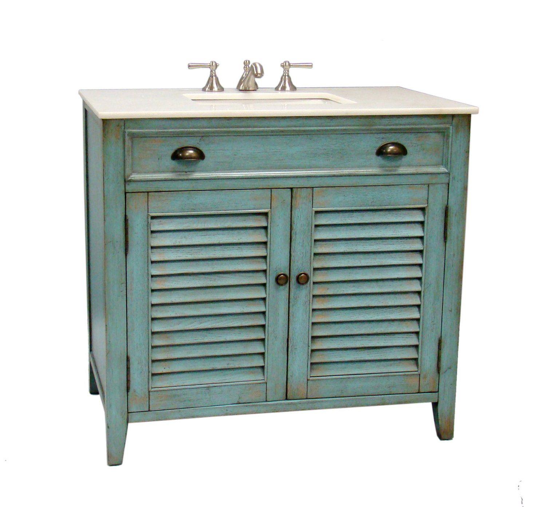 36 Cottage Look Abbeville Bathroom Sink Vanity Cabinet Model