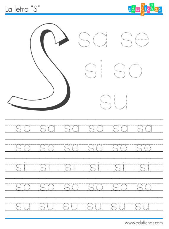 Descarga esta hoja de trabajo de las sílabas con S. Hojas de ...