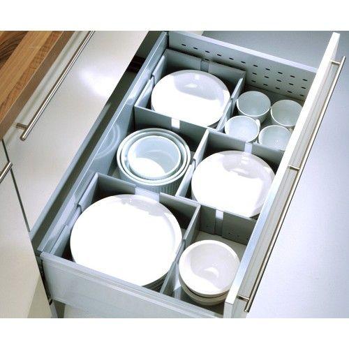 CUISIO Flex   Geschirrhalter   Tellerhalter   Ordnungssystem - schubladen ordnungssystem küche