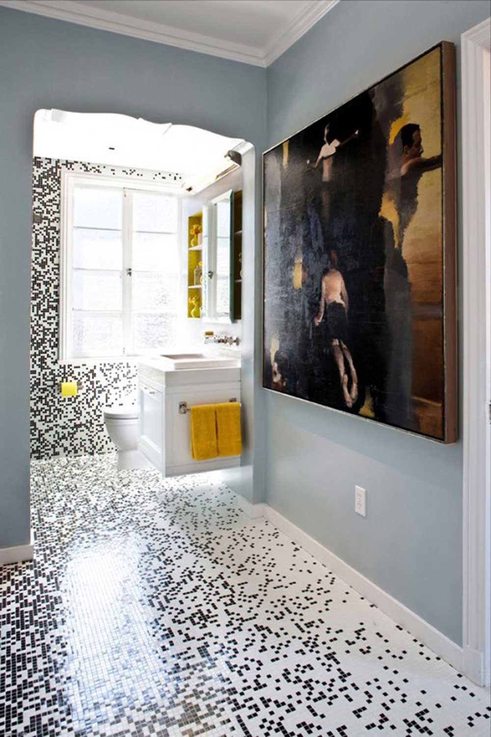 Beautiful And Simple Design Mosaic Tiles For Artistic Home Wiki Homes