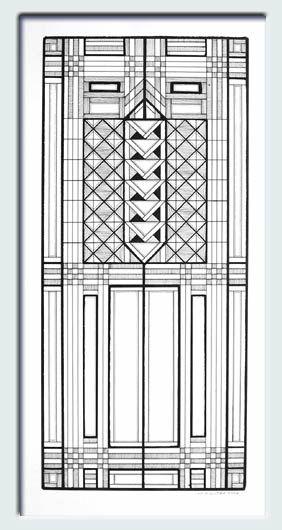 Frank Lloyd Wright Window Designs Google Search