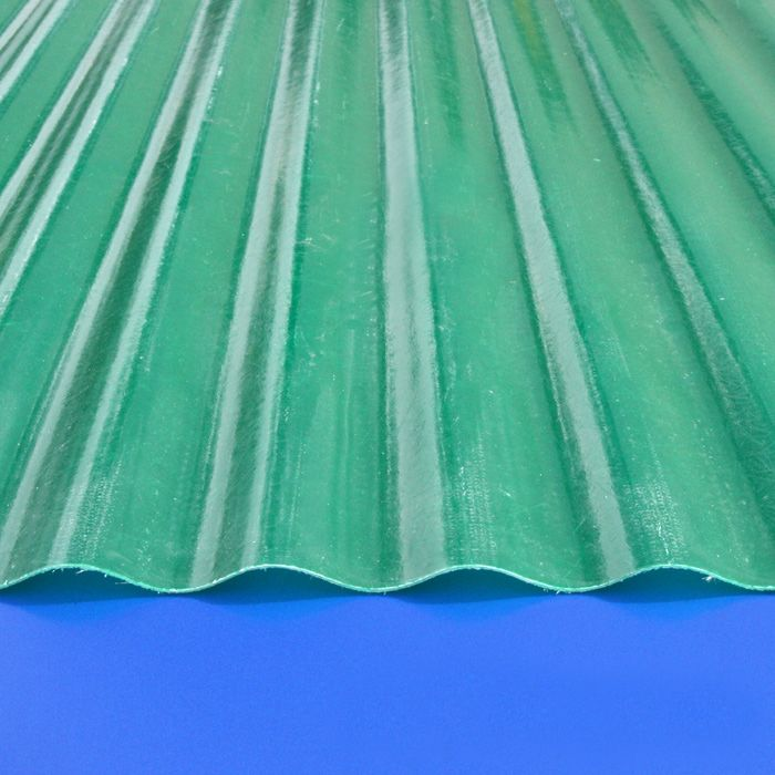 Super 600 6 Oz Hunter Green 1307 26 X120 2 1 2 X 1 2 Profile Corrugated Fiberglass Sheet At Eplastics Fiberglass Plastic Sheets Corrugated