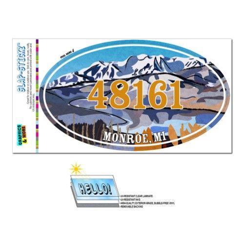 48161 Monroe Mi Snowy Mountain Lake Oval Zip Code