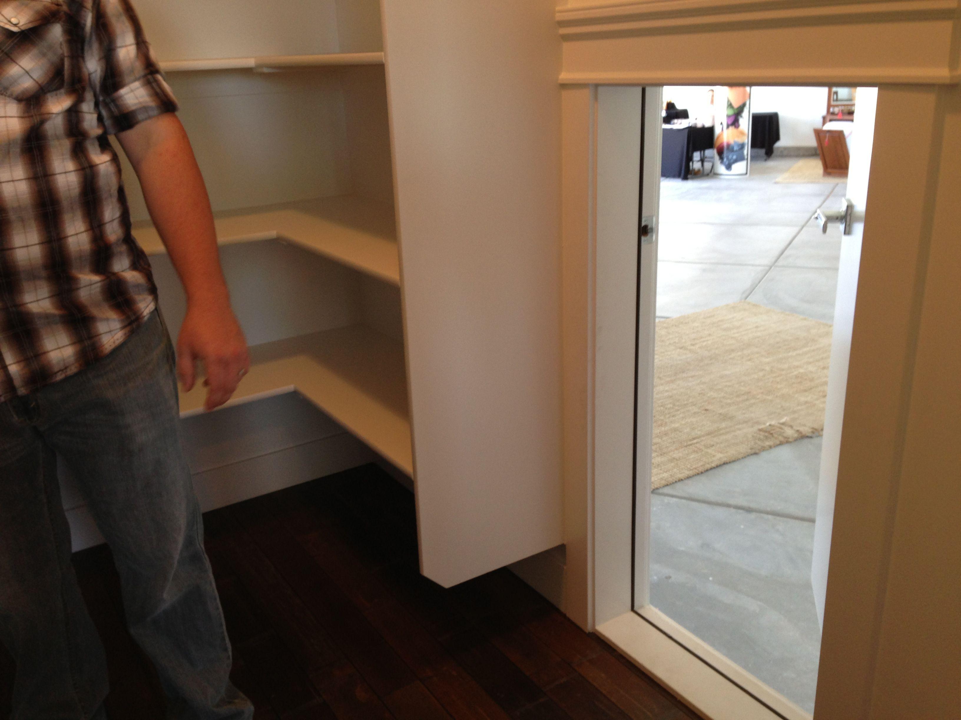 Garage To Pantry Access Door