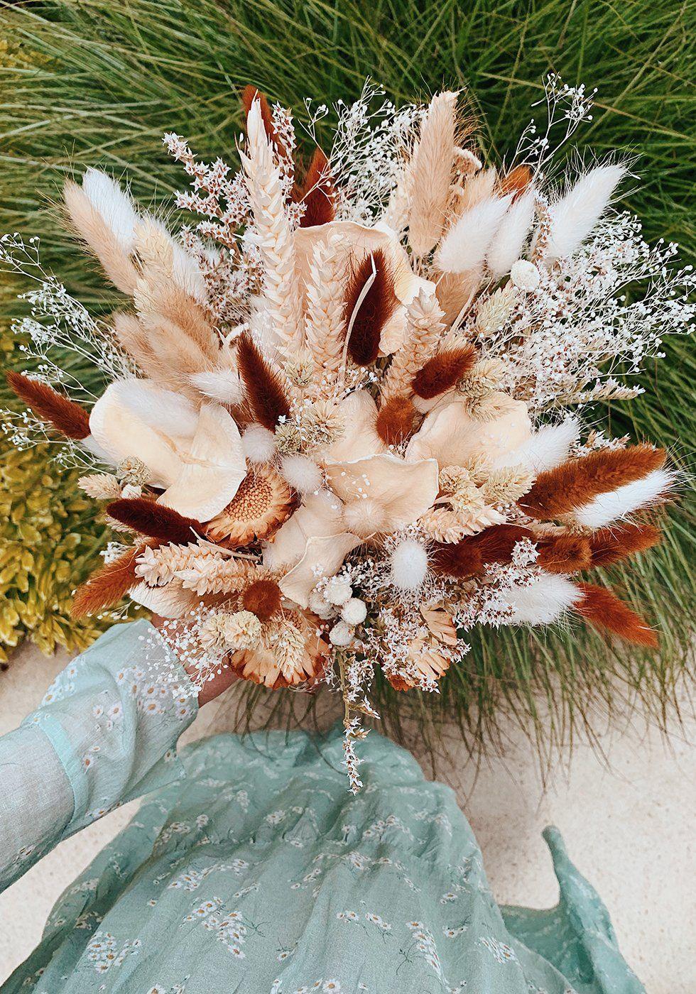 DIY Dried Flower Bouquet - Honestly WTF