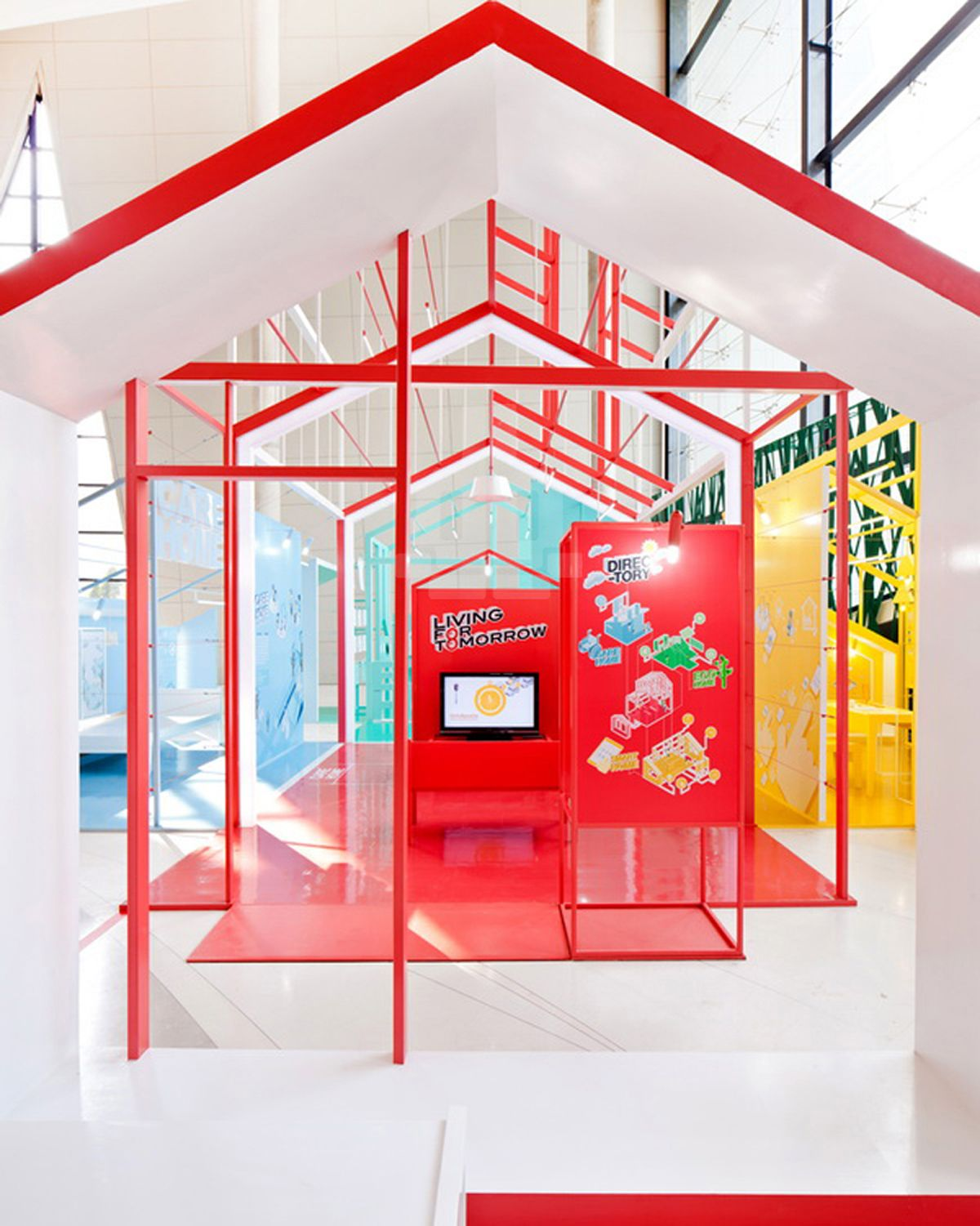 D Exhibition Bangkok : Apostrophy s colorizes living for tomorrow exhibit in
