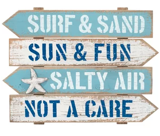 Wooden Beach Signs Decor Impressive Discover The Best Wooden Beach Signs And Beach Wall Decor You Can Decorating Inspiration
