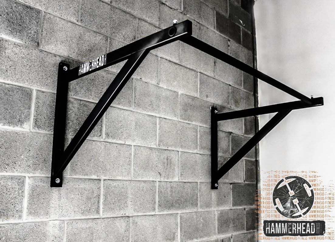 The Wall Mounted Pull Up Bar Plus A Bunch Of Different