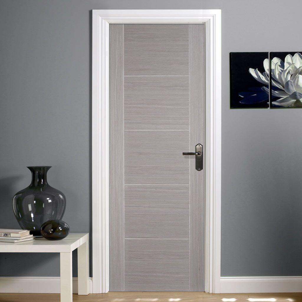 Light Grey Vancouver Door Prefinished Grey Internal Doors Oak Fire Doors Doors Interior