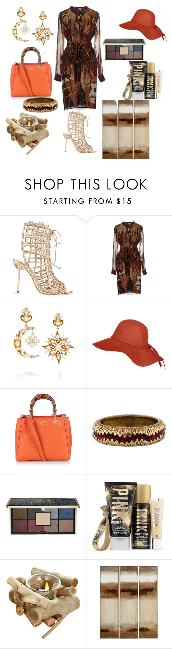 """""""Untitled #545"""" by thestyle-chic ❤ liked on Polyvore featuring Sophia Webster, Gucci, Diego Percossi Papi and Ciaté"""