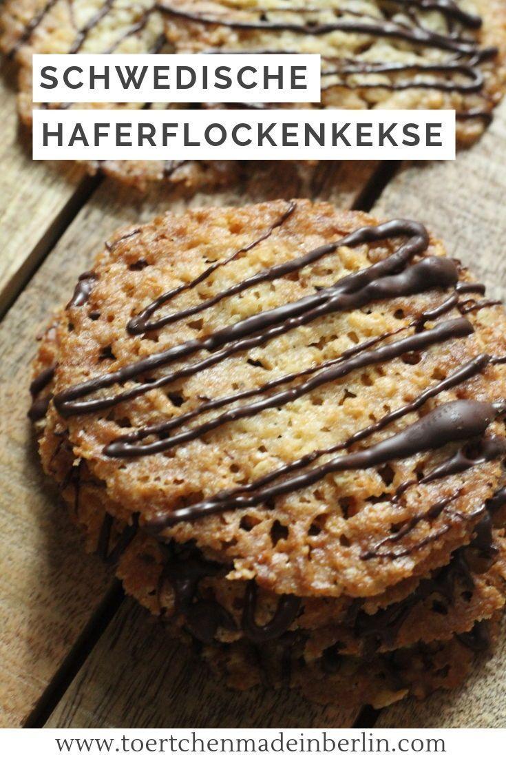 Schwedische Haferkekse #peanutrecipes