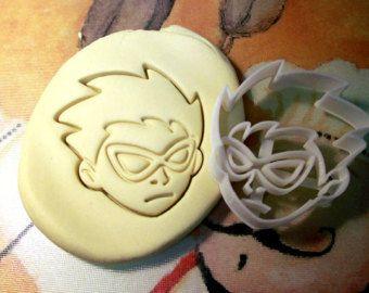 Teen Titans Robin Cookie Cutter - en matériau biodégradable