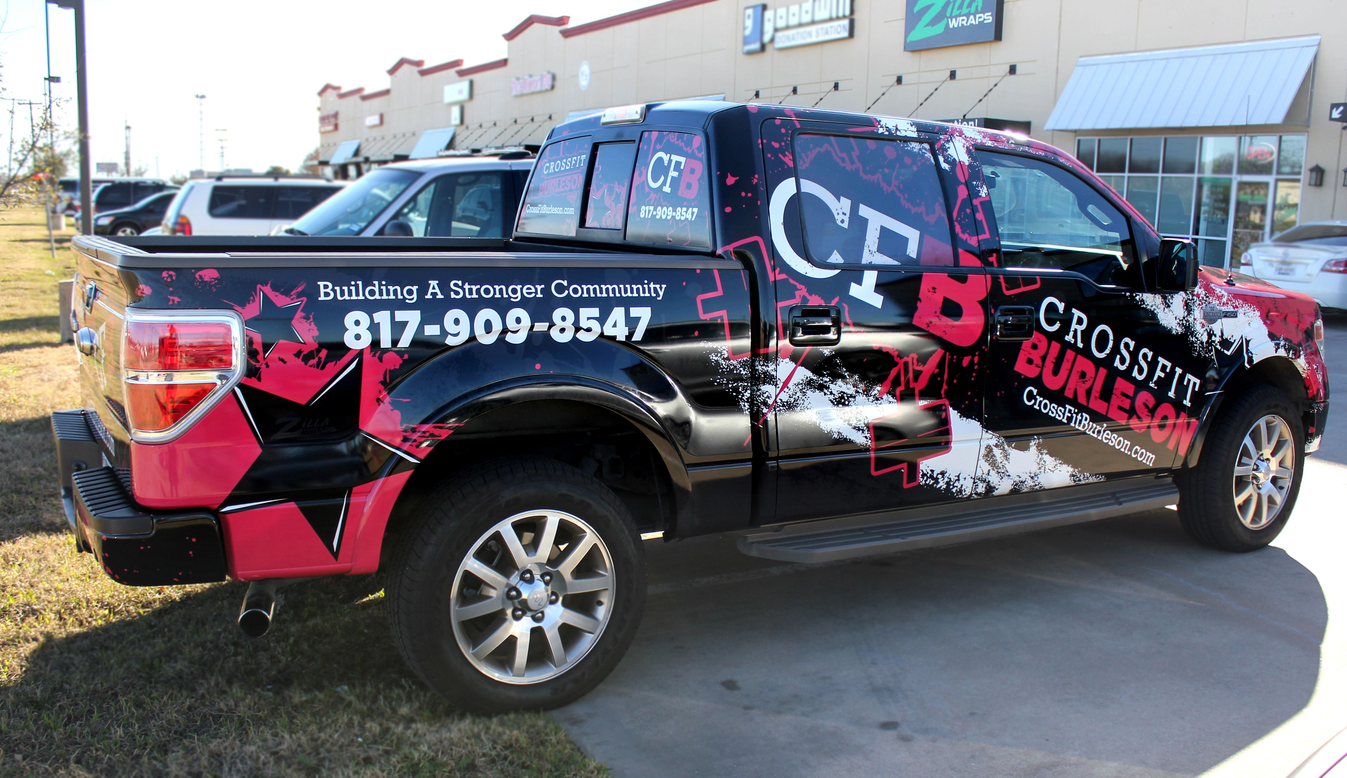 Crossfit Truck Wrap Commercial Vehicle Trucks Wraps [ 2715 x 4698 Pixel ]
