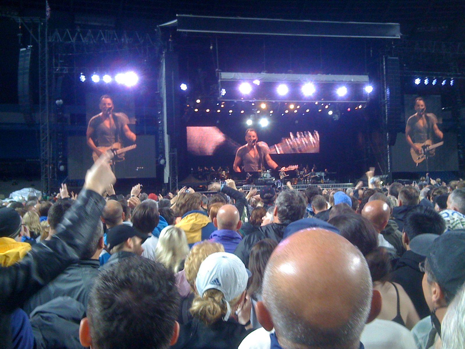 Bruce Springsteen The E Street Band Etihad Stadium Manchester Uk