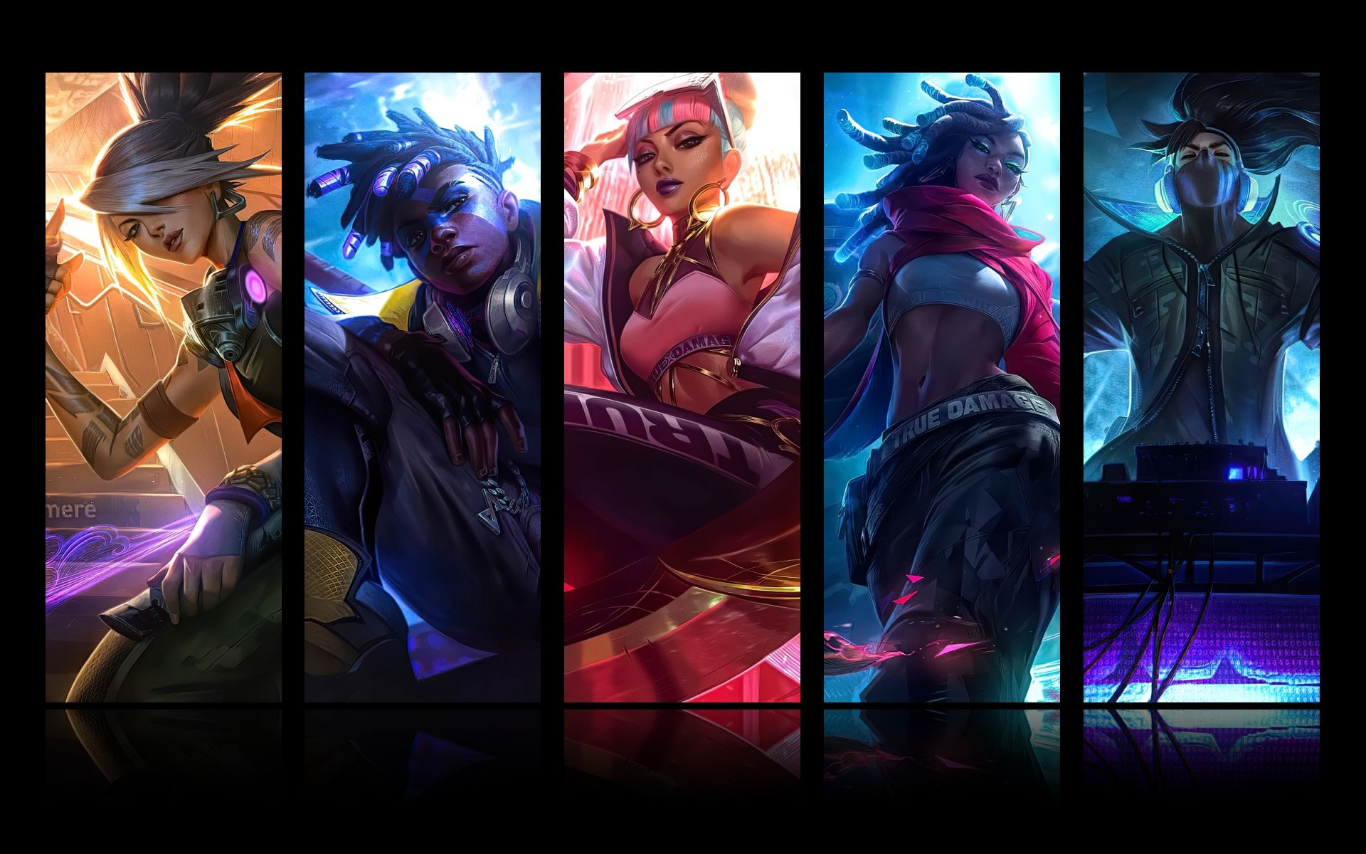 True Damage Skins Revealed Ahead Of Lol Worlds 2019 Final L2pbomb League Of Legends Characters League Of Legends Lol League Of Legends