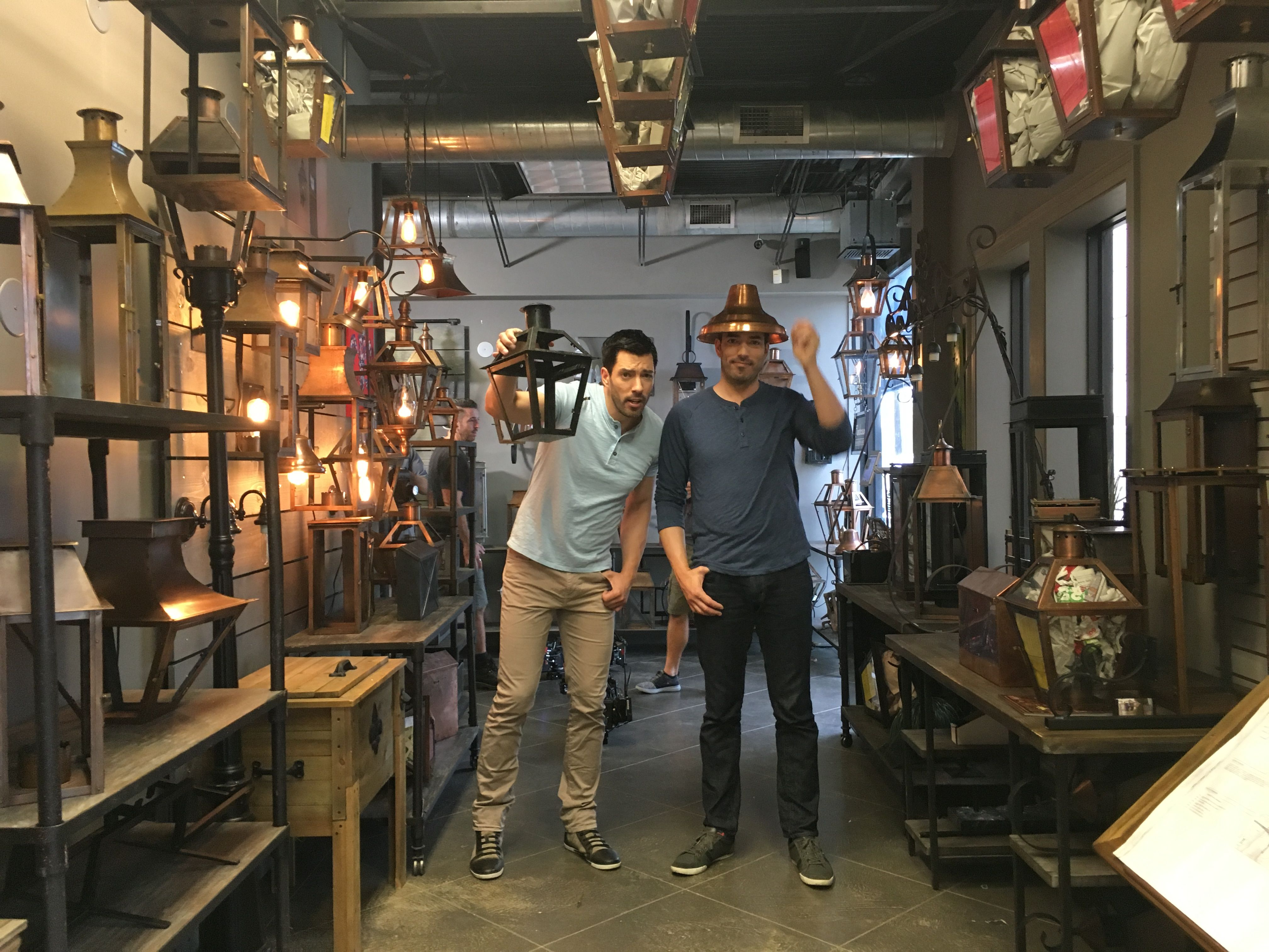 We loved incorporating iconic New Orleans aesthetics into our designs. Gas lamps were a must! #BrothersTakeNOLA @mrdrewscott